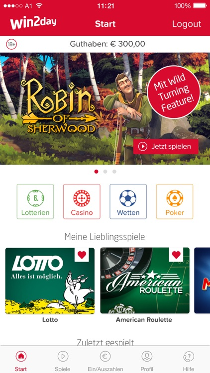 win2day: Casino, Lotto, Wetten screenshot-0