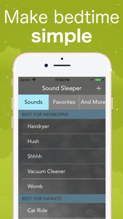 Sound Sleeper White Noise