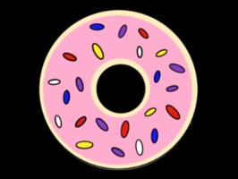 30 Donut Stickers to send in your messages