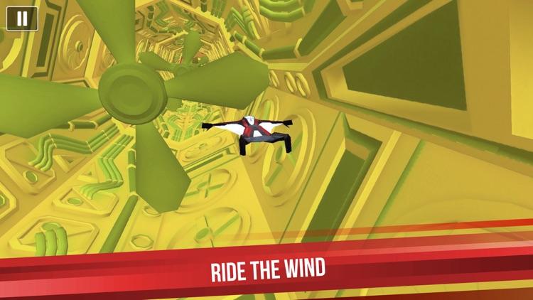 Wingsuit Man 3D