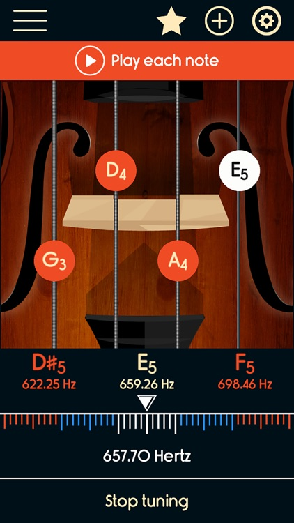 Violin Tuner Master screenshot-2