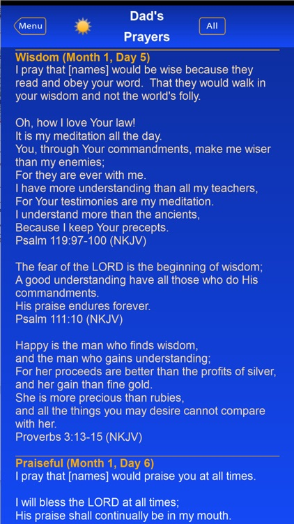 Dad's Prayers screenshot-4