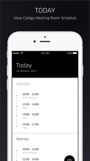 meetingroom by codigo on the app store rh itunes apple com