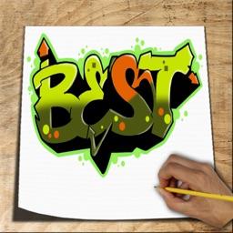 Dessin De Graffiti télécharger comment dessiner graffiti 3d pour iphone / ipad sur l
