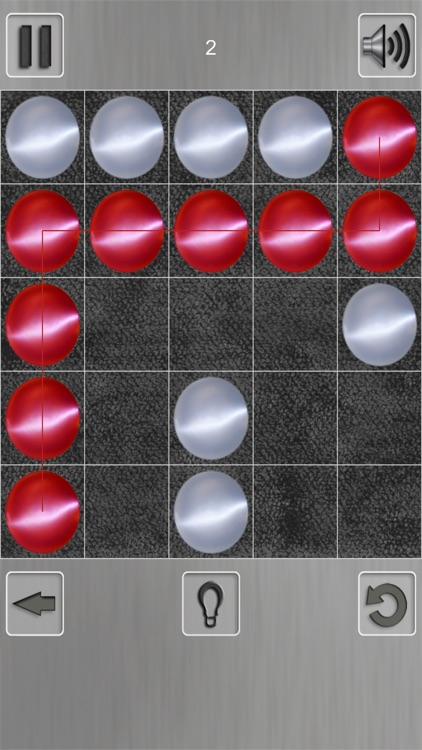Puzzle with balls