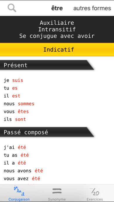 French verbs conjugation by Nealis (iOS, United Kingdom