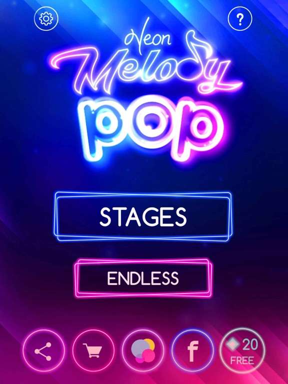 Neon Melody Pop screenshot 12