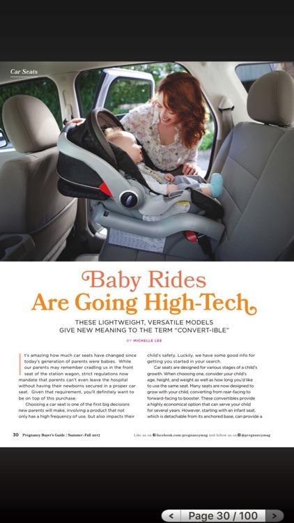 Pregnancy Magazine HD screenshot-4