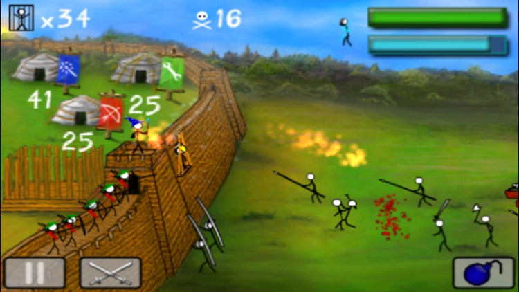 StickWars screenshot-0