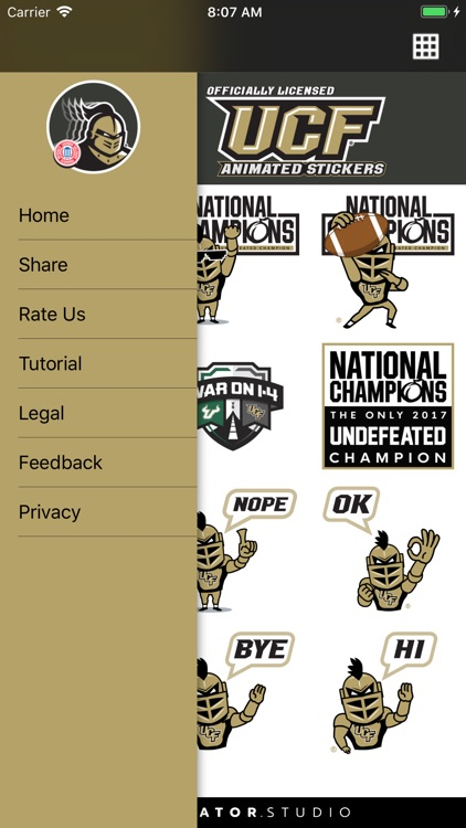UCF® Stickers screenshot-4