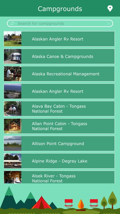 Alaska Campgrounds & Parks screenshot-1