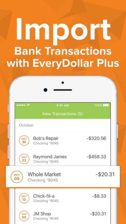 EveryDollar Easy Budgeting App screenshot-8