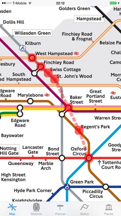London Tube Map and Guide screenshot-3