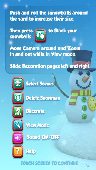 Snowman 3D LITEのおすすめ画像1