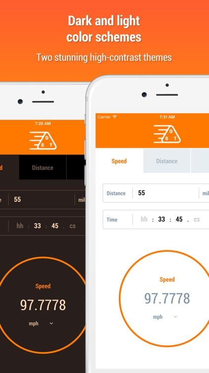 Speed Distance Time Calculator screenshot-4