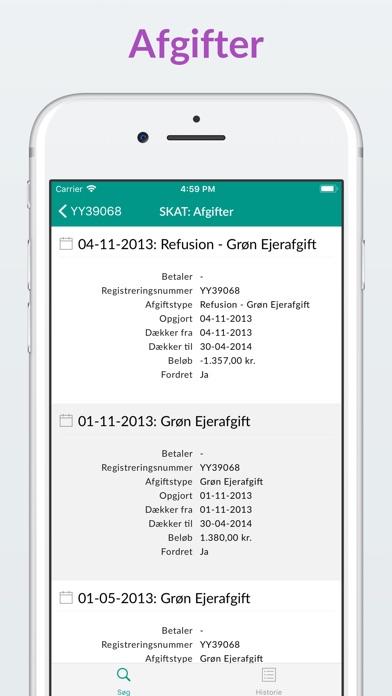 Screenshot for Nummerplade PRO in Denmark App Store