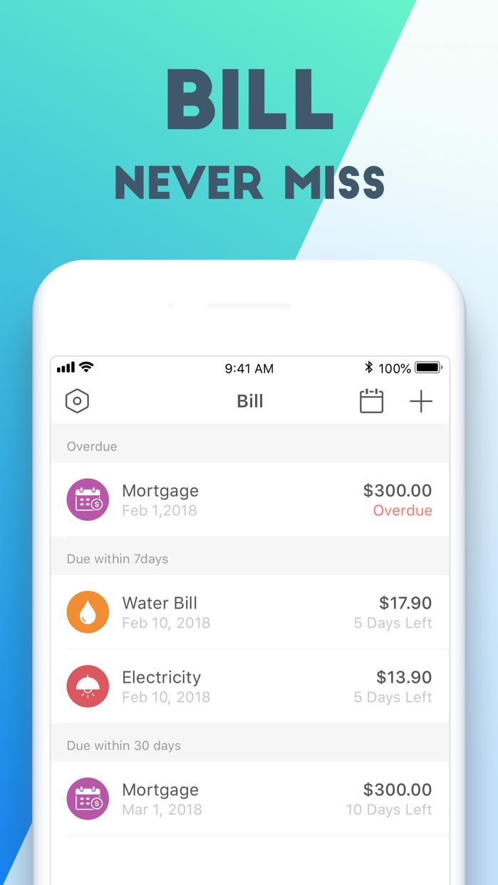 Pocket Expense 6 Screenshot