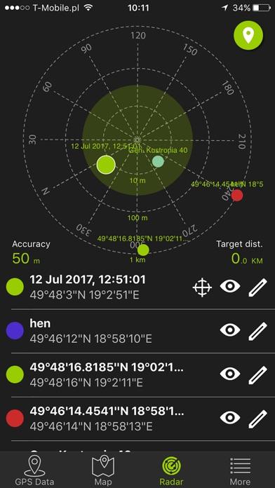 GPS數據 map屏幕截圖5