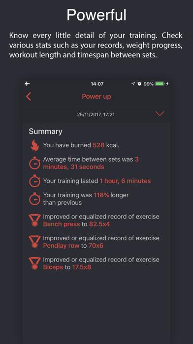 Weighter: Gym notes & progressのおすすめ画像3