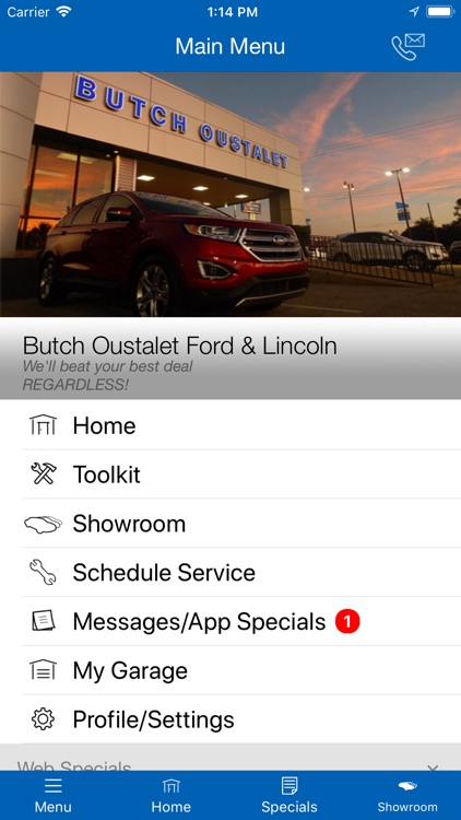 Butch Oustalet Ford & Lincoln screenshot-3