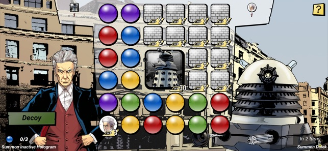Doctor Who Infinity Screenshot