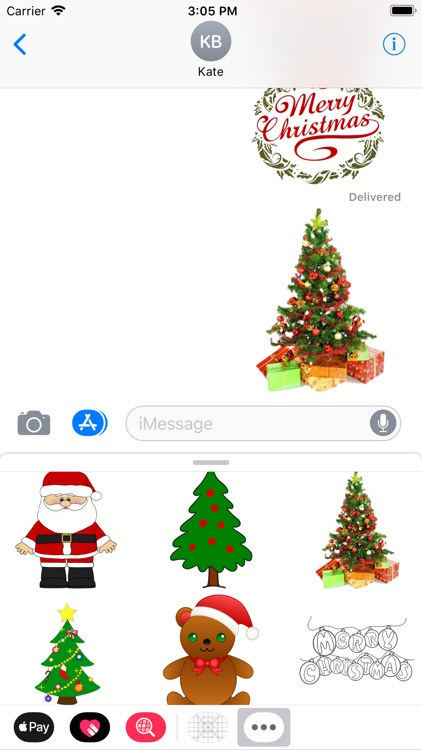 Amazing Santa Stickers