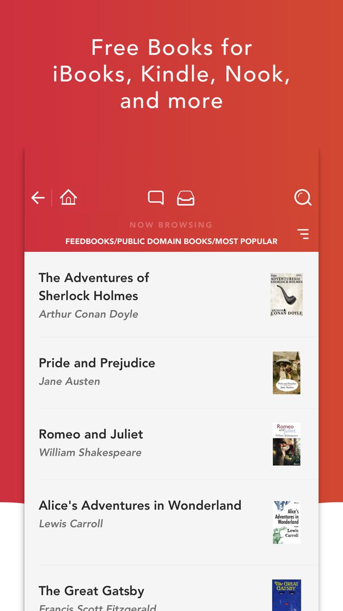 eBook Search - Books & Novels Screenshot