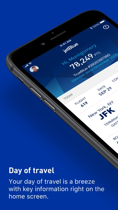 JetBlue iPhone