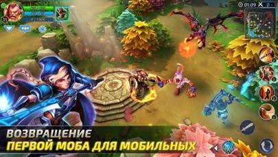 Heroes of Order & Chaos — мобильная MOBA! Скриншоты3
