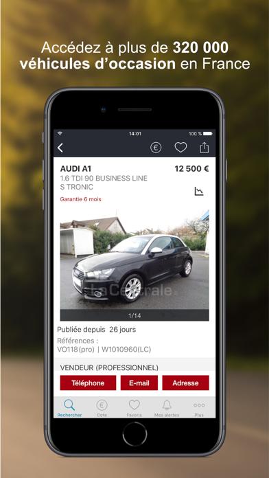 download La Centrale - voiture occasion apps 0