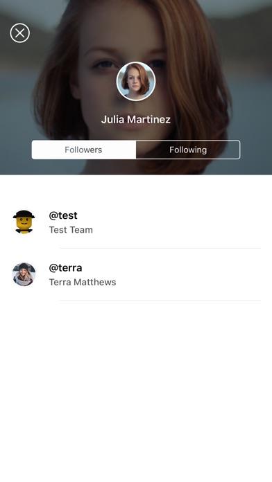 Reacts Screenshot