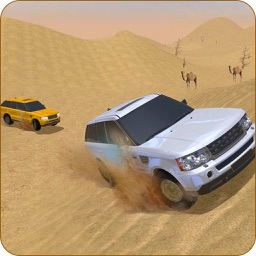 Jeep Rally In Desert