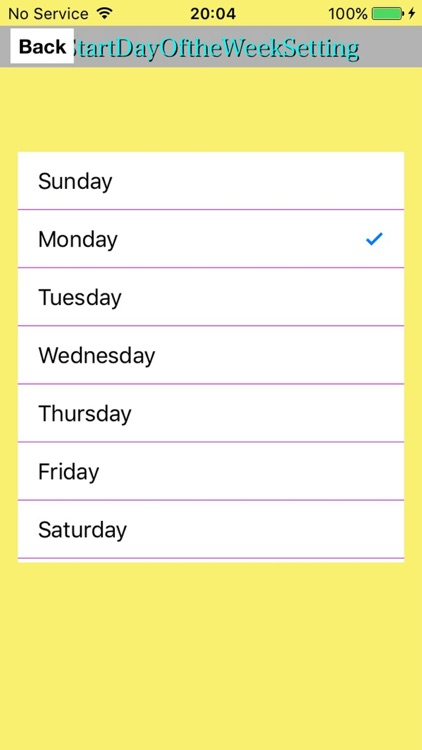 MyShiftCalendarPlus screenshot-3