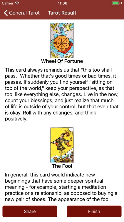 Tarot Card Reading Daily Tarot screenshot-3