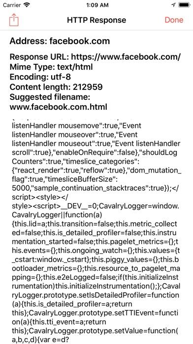 Web Tools: Web Inspector Screenshots