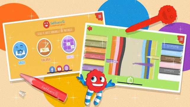 Sabbiarelli Sand Art For Kids Su App Store