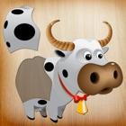 幼儿拼图游戏 - 动物 -教育学习儿童游戏 icon