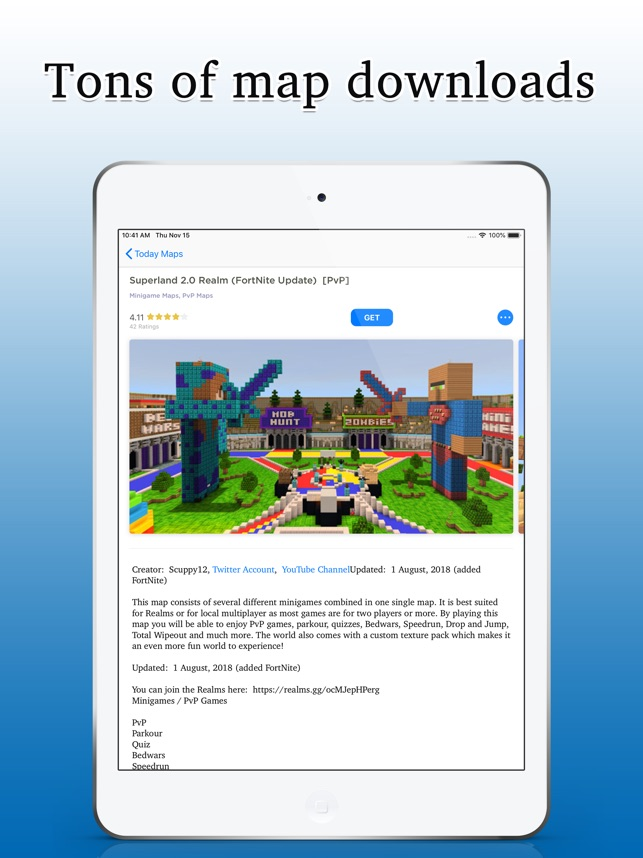 MineServer For Minecraft on the App Store