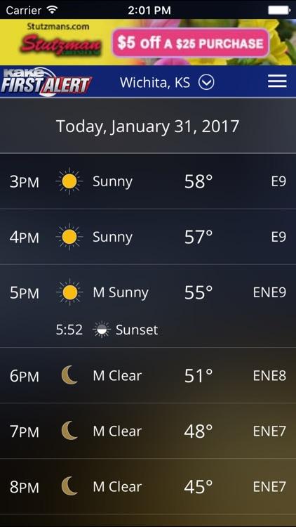 KAKE First Alert Weather screenshot-4