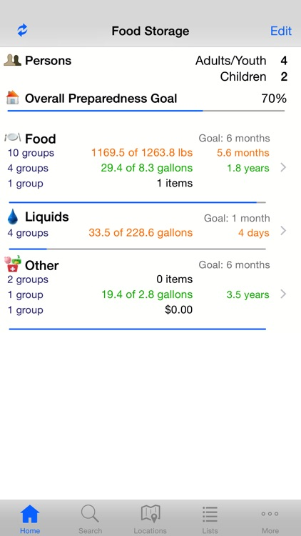 Home Food Storage (Pantry, Prep or Grocery) screenshot-0
