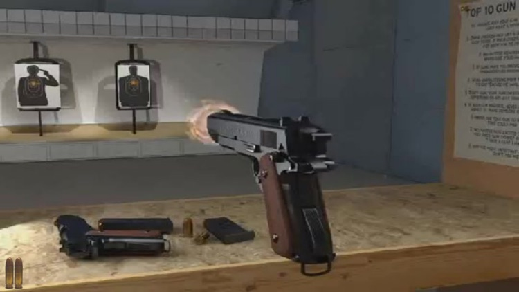 Virtual Pistol Colt M1911