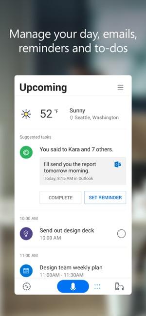 Cortana on the App Store