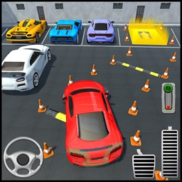 Futuristic Car Park Challenge