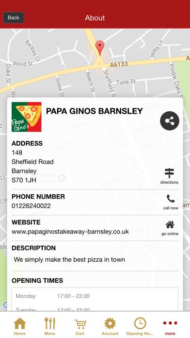 Papa Gino's BarnsleyScreenshot of 5
