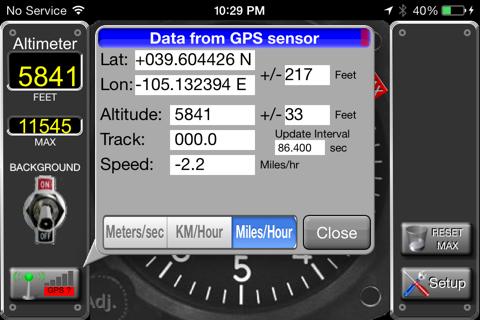Aircraft Altimeter screenshot 4