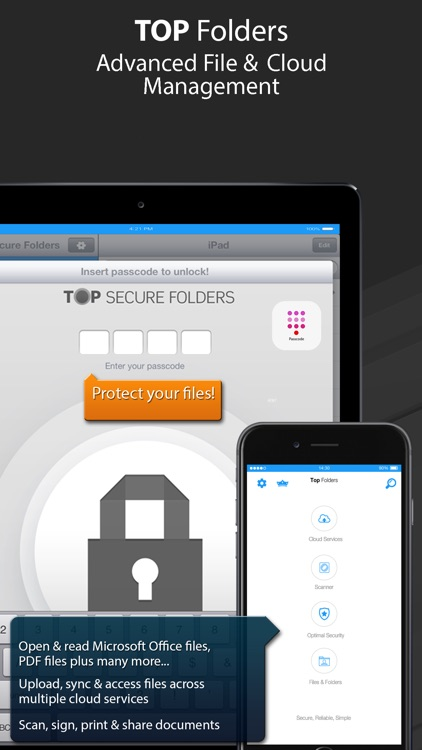 Top Folders Pro - File Manager
