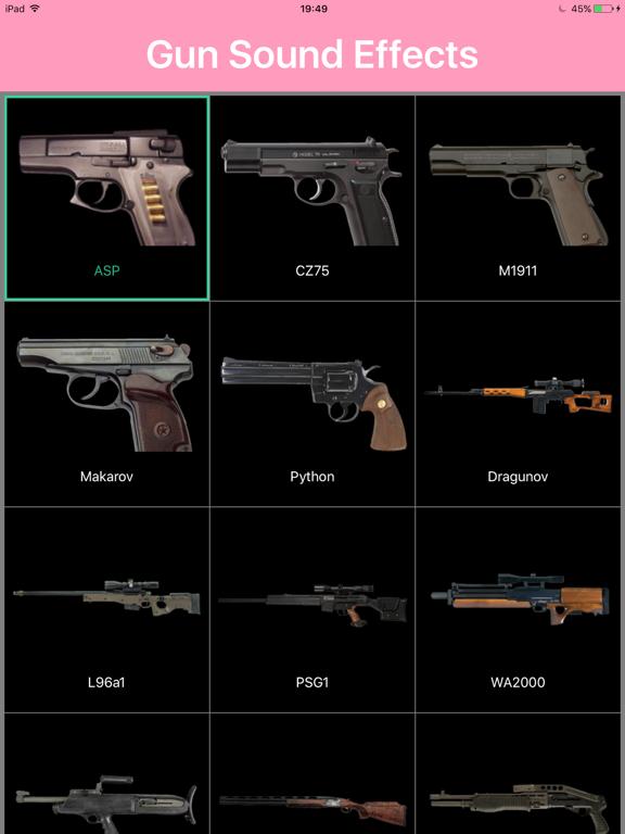 Gun Sound Effects: 100 Sound | App Price Drops