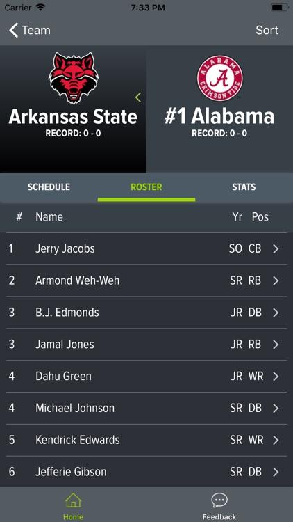 Alabama Football 2018 screenshot-9