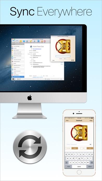Password Manager Data Vault app image