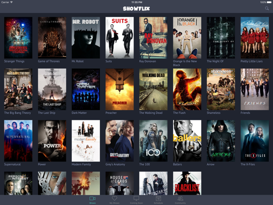 ShowFlix - TV Shows screenshot